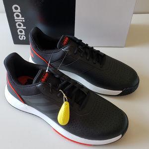 Mens Adidas Courtsmash Sneakers - Black